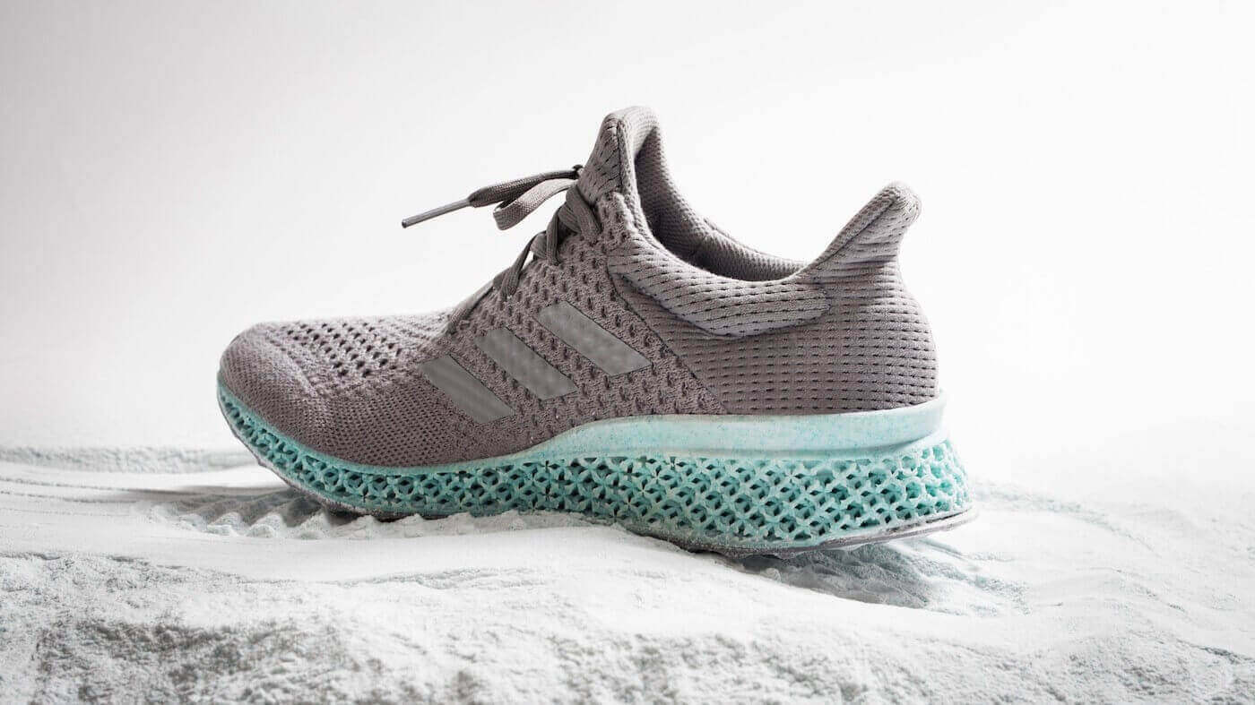Adidas Uses Plastic Ocean Waste to Create Shoe | All3DP