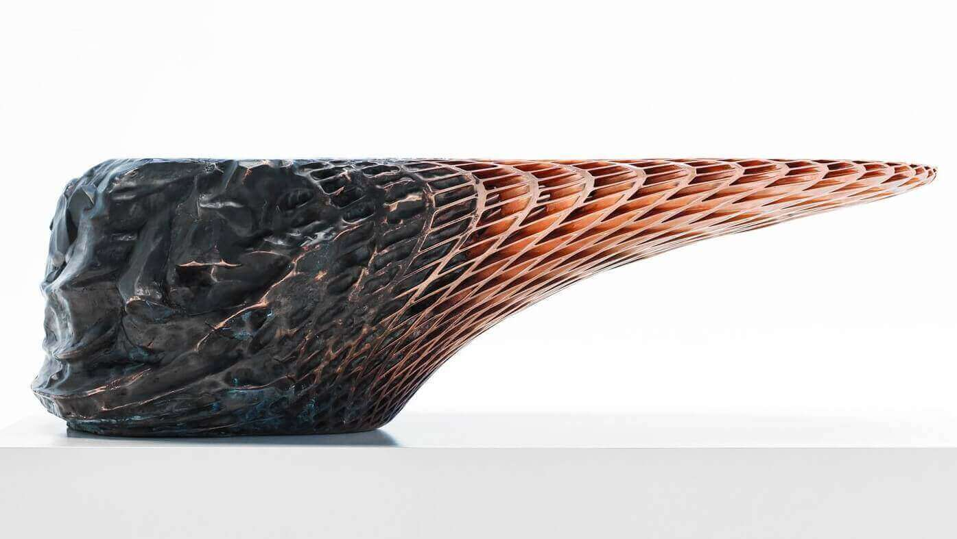 You've Heard About 3D Printed Lamps. But What's an Explosion Welded Table? | All3DP