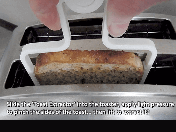 Image of Cool Kitchen Gadgets to 3D Print: Toast Extractor
