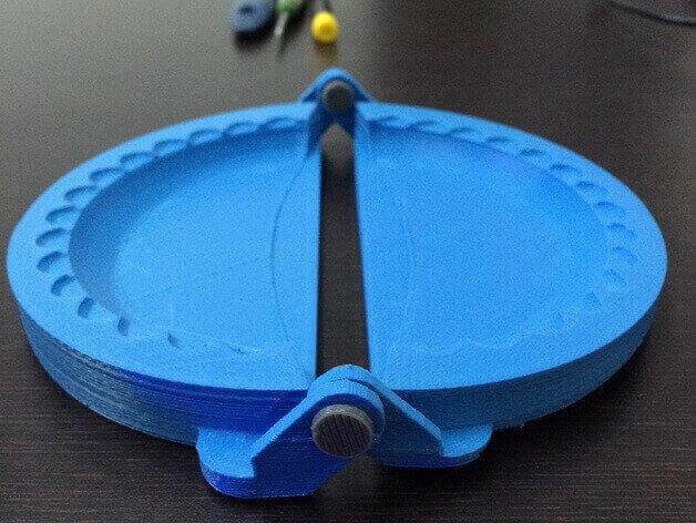 Image of Ustensile de cuisine imprimé en 3D - Top 30: Moule à empanadas