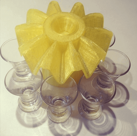Image of 30 tolle Küchenhelfer aus dem 3D-Drucker: 10-fach-Glasfüller