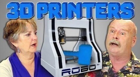 Featured image of Awesome Video: Elders React to 3D Printers