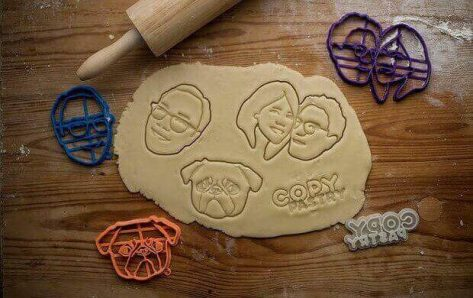Featured image of Get Your Portrait on a 3D Printed Custom Cookie Cutter