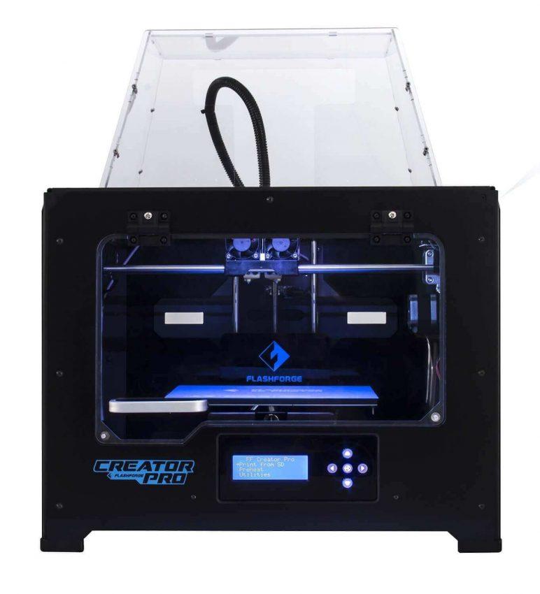 Image of Best Selling 3D Printer on Amazon: FlashForge Creator Pro