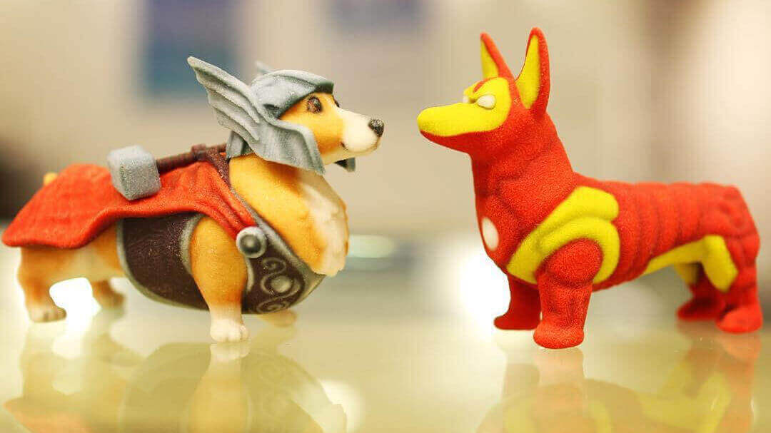 Meet Thorgi, the Corgi God of Thunder (and his Amazing Friends) | All3DP