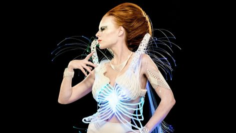 Featured image of 3D Printed Costume: Fashion Design in a Sci-Fi Time Machine
