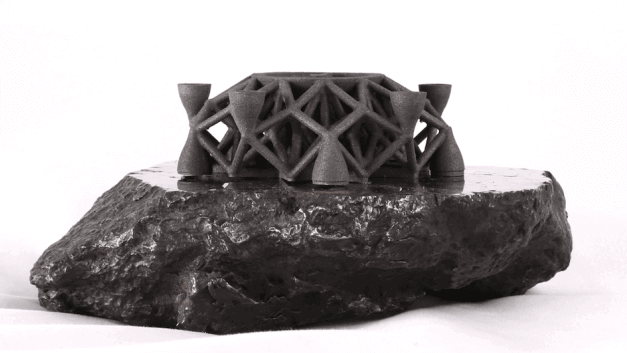 First Ever 3D Printed Object From Asteroid Metals | All3DP