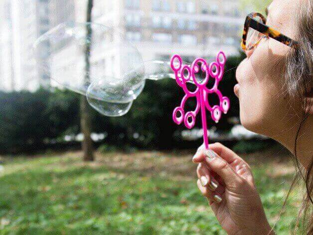 Blow some 3D printed bubbles (Image: Makerbot)