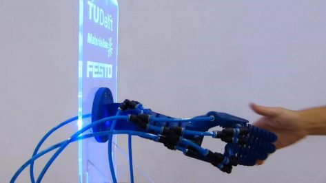 Featured image of Soft Robotics Hand Improves Robot-Human Interactions