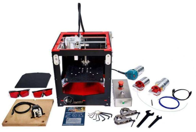 Image of Best All-In-One 3D Printer/Scanner/Laser Engraver/CNC Machines: BoXZY