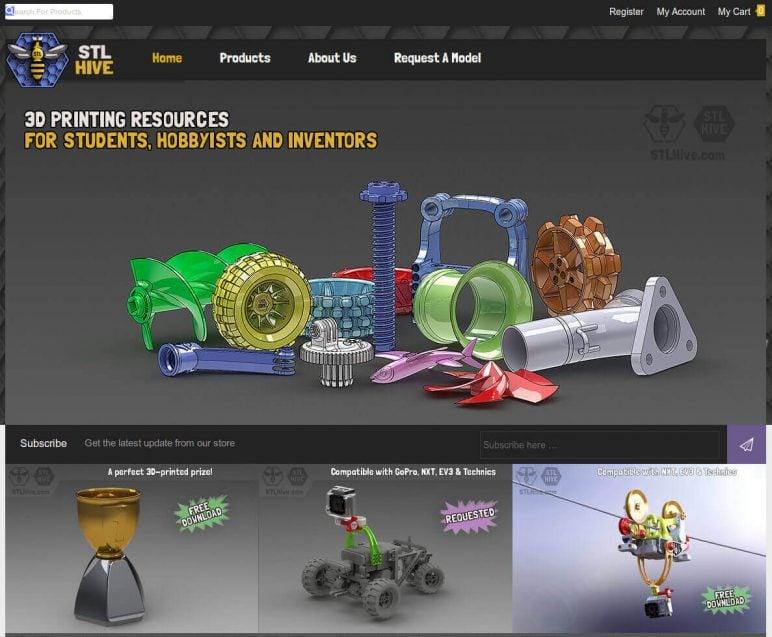 Image of Arquivos STL gratuitos e modelos de impressão 3D: STLHive