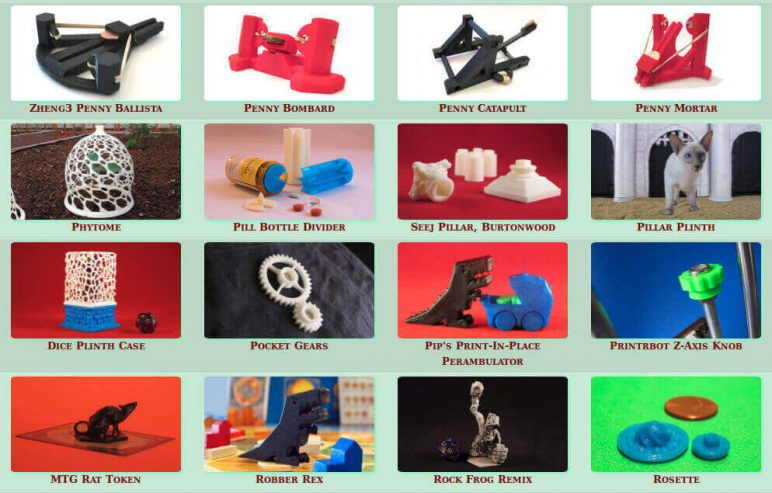 Image of Free STL Files, 3D Printer Models & 3D Printer Files: The Forge