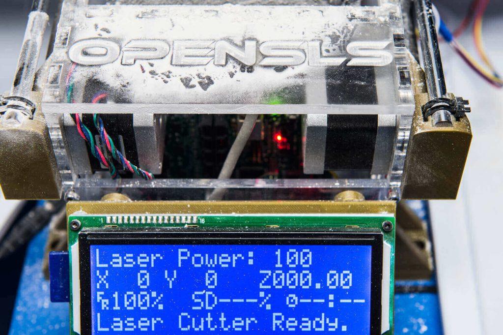 Open Source SLS 3D Printer