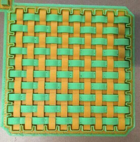 parametric woven panel