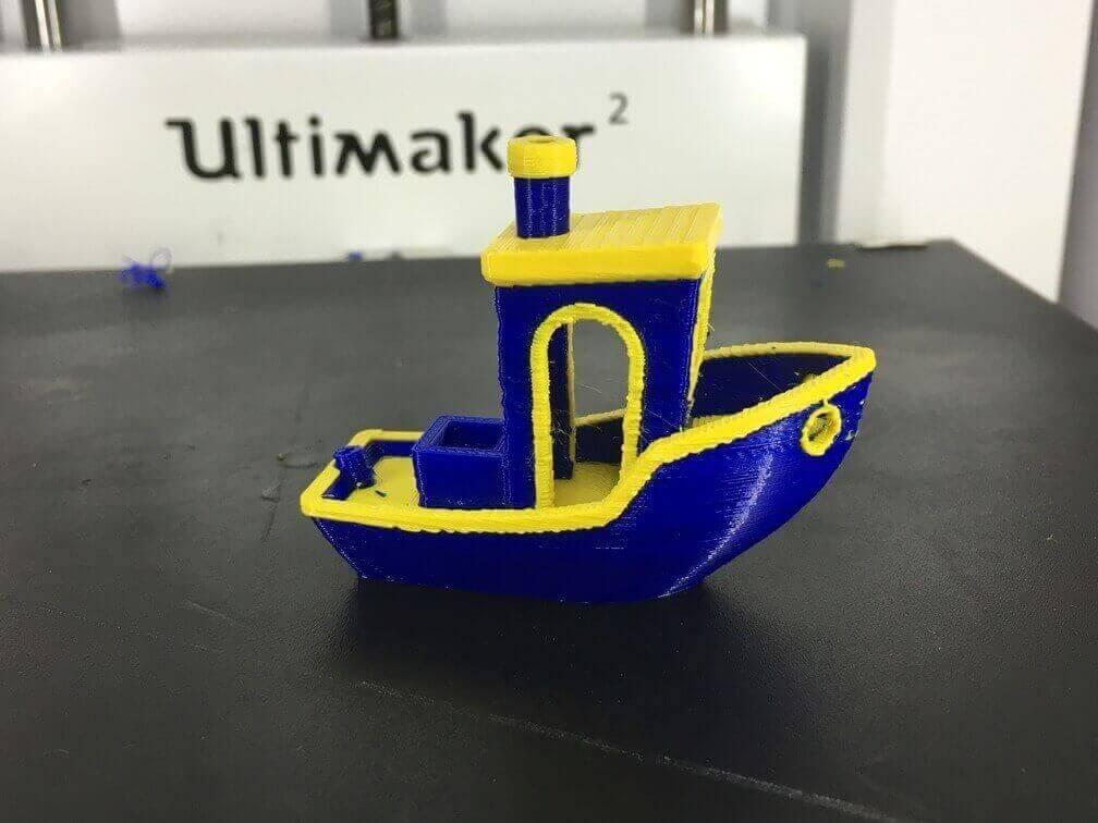 3D Benchy Dual Extruder 3D Printer