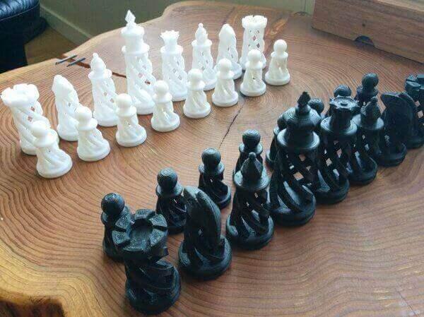 spiral chess set 3d slicer settings