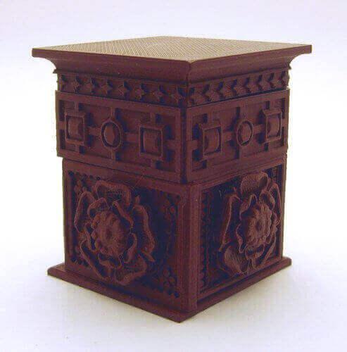 tudor rose box 3d slicer settings