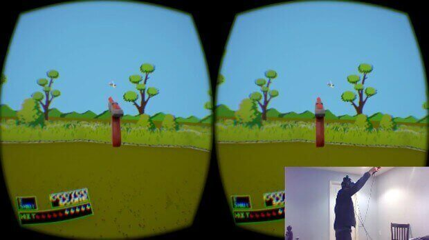 Nintendo's Duck Hunt Revived with VR and 3D Printing | All3DP