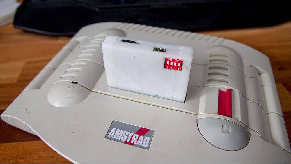 3D Printed Cartridges for Amstrad GX4000 Games Console | All3DP