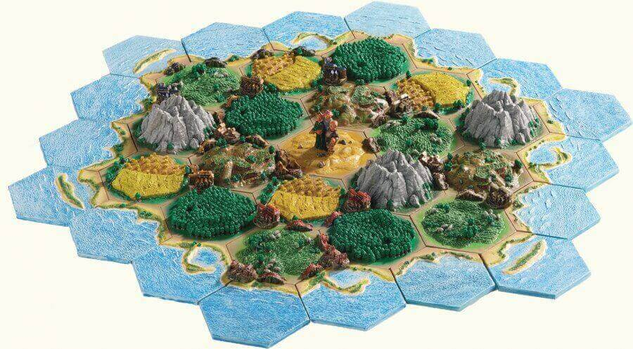 photograph about Settlers of Catan Printable known as 22 Terrific Tips For 3D Settlers of Catan in the direction of 3D Print All3DP