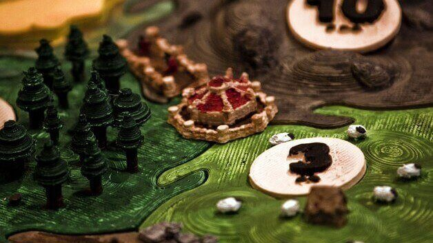 photo regarding Settlers of Catan Printable identify Board Game titles All3DP