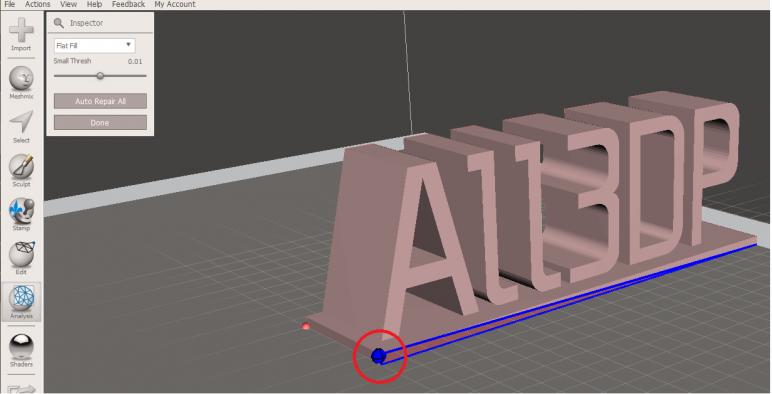 Image of Software para impresoras 3D: editar y reparar archivos STL: Meshmixer