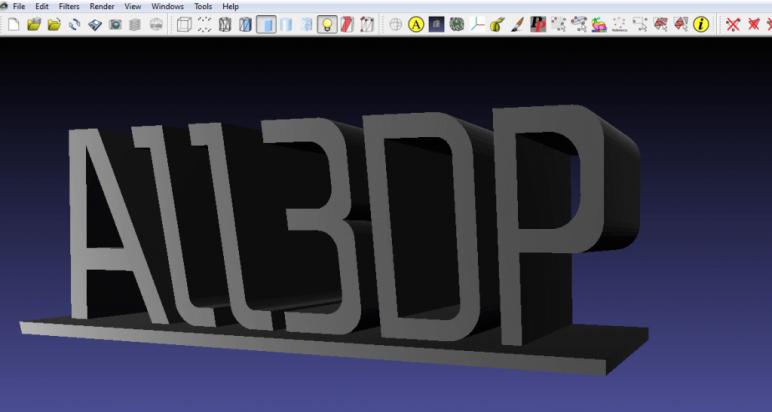 Image of Software para impresoras 3D: editar y reparar archivos STL: MeshLab