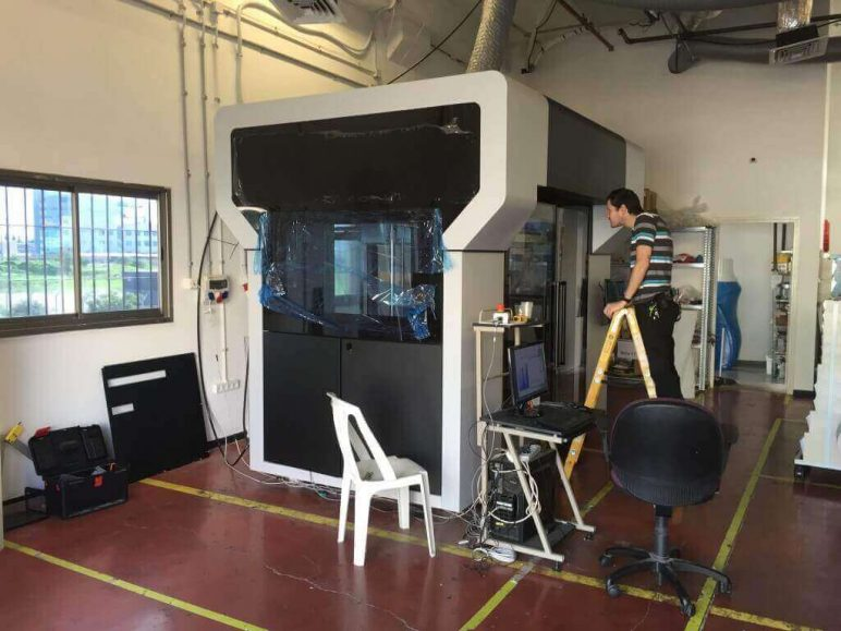 Image of Fastest 3D Printer: Massivit 1800