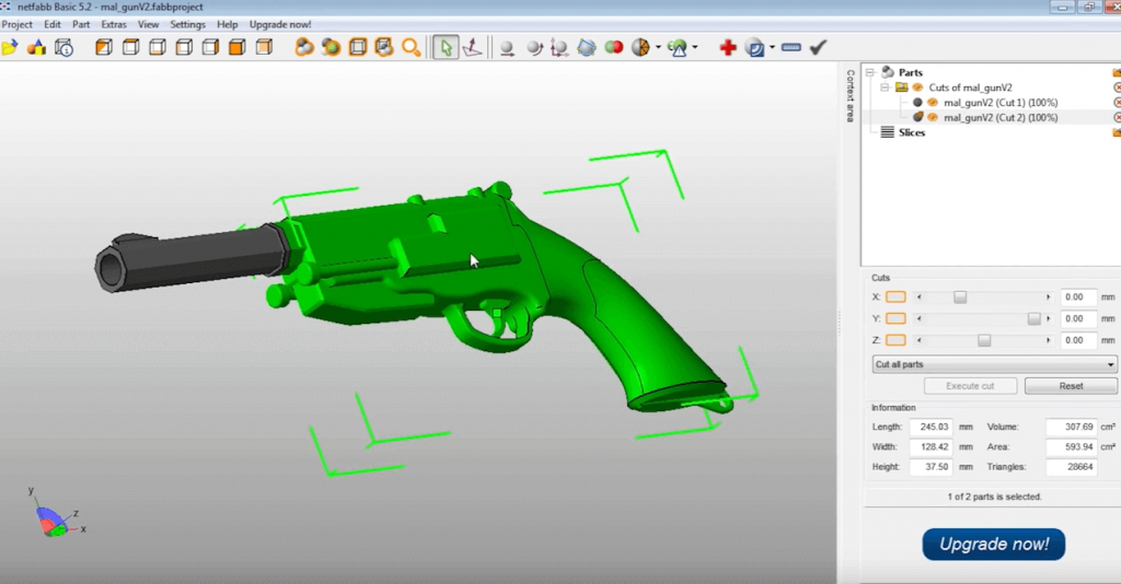 What is it with 3D printin and guns all the time... (source: Thingiverse)