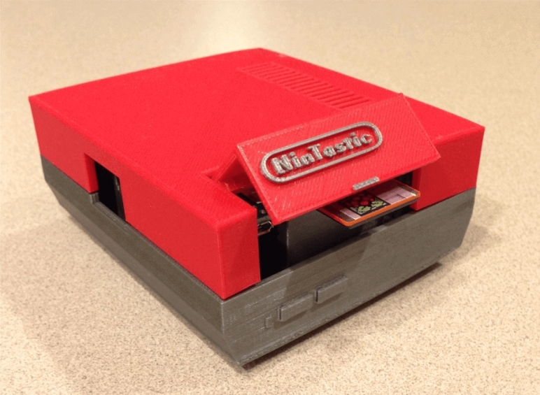 Image of RetroPie Case: NinTastic (Raspberry Pi NES Game Console Case)
