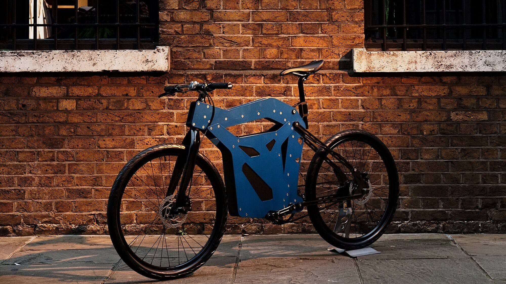 Futuristic Trayser Bike has 3D Printable Spare Parts | All3DP