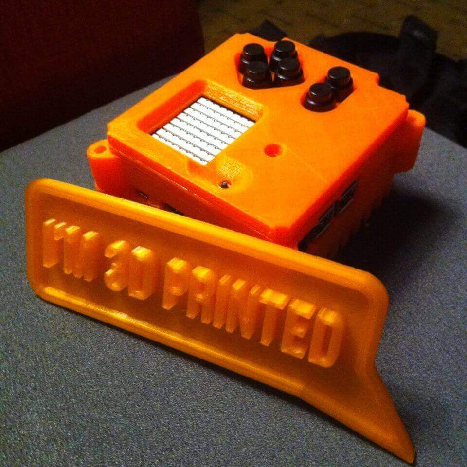 Orange Astro Pi