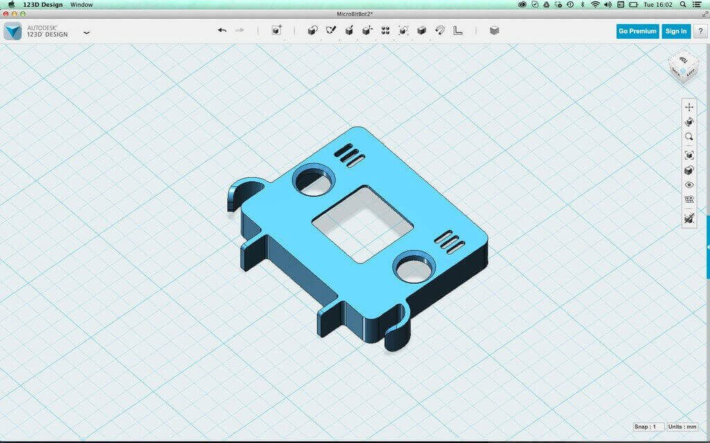 microbot autodesk 123D