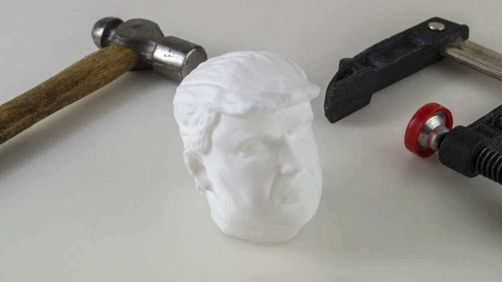 Squeeze A 3D Printed Donald Trump Stress Ball | All3DP