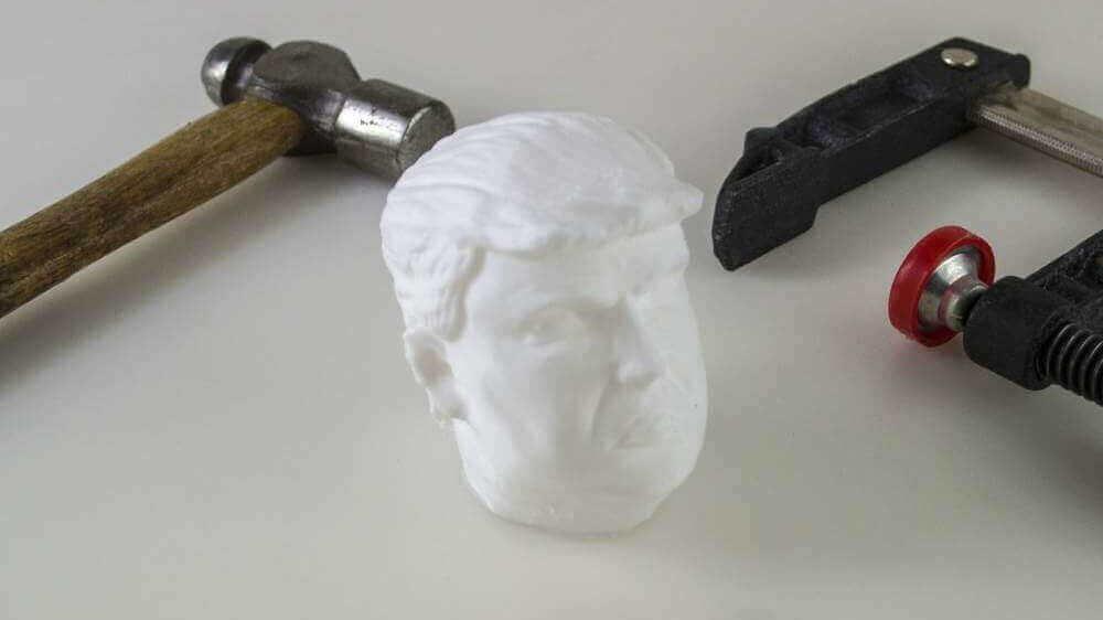 Squeeze A 3D Printed Donald Trump Stress Ball   All3DP