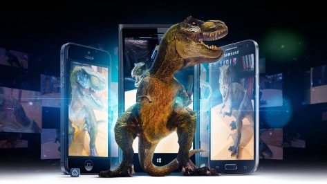 Featured image of Digital Dinosaurs Class Educates Students on New Technologies and Old History