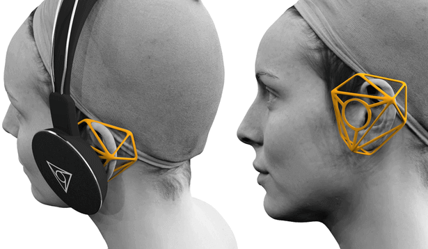 Vie Shair Headphones with 3D Printed Sonic Cages | All3DP