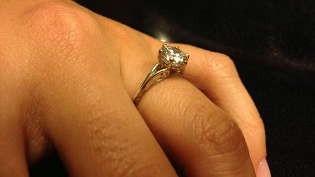 Zirconia Engagement Ring for $100 thanks to 3D Printer | All3DP