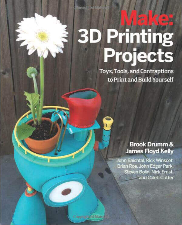 3d pritning library, 3d printing books