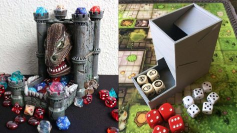 Featured image of 3D Print a DIY Dice Tower for RPG or Tabletop Games