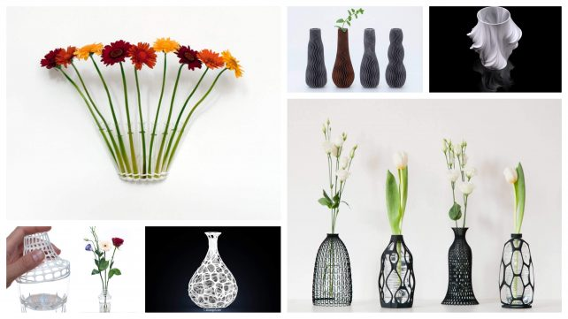 Featured image of 5+ Adorable 3D Printed Vase Designs