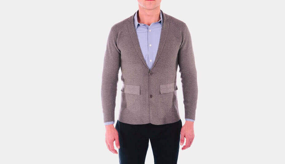 This 3D Printed Seamless Jacket Looks Totally Handsome | All3DP