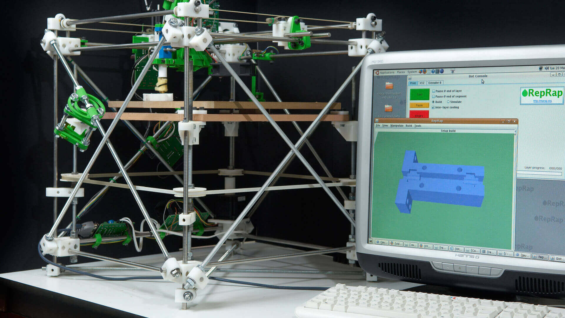 The Official History of the RepRap Project | All3DP