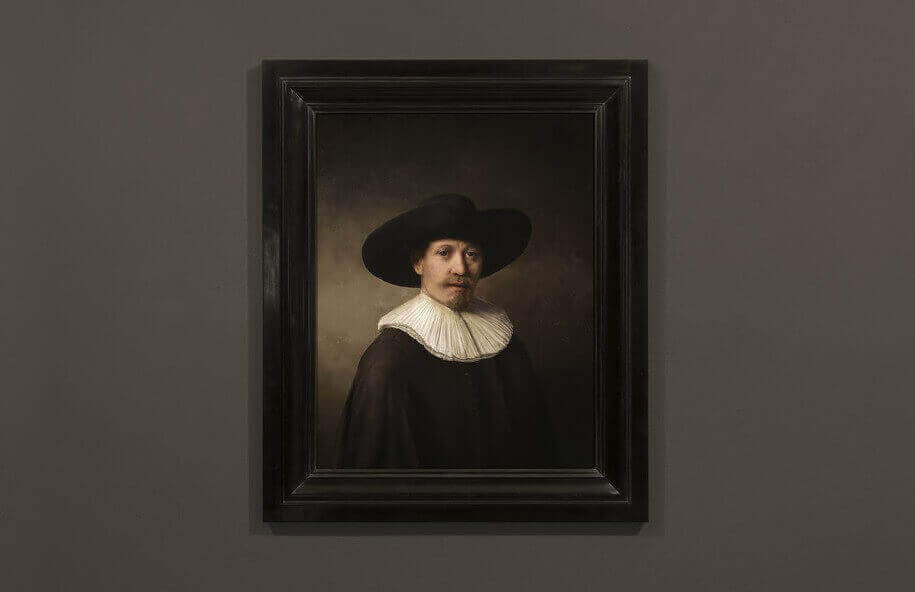 Technology Creates New 3D Printed Rembrandt | All3DP