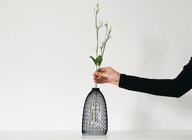 3d Printed Vase Promotes Plastic Bottle Recycling All3dp