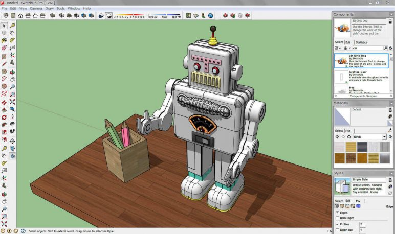 Image of Die 19 besten CAD-Programme (Professionelle CAD-Software): SketchUp