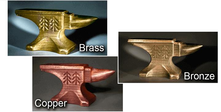 Image of Filament 3D : comparatif des filaments pour imprimante 3D: Métal
