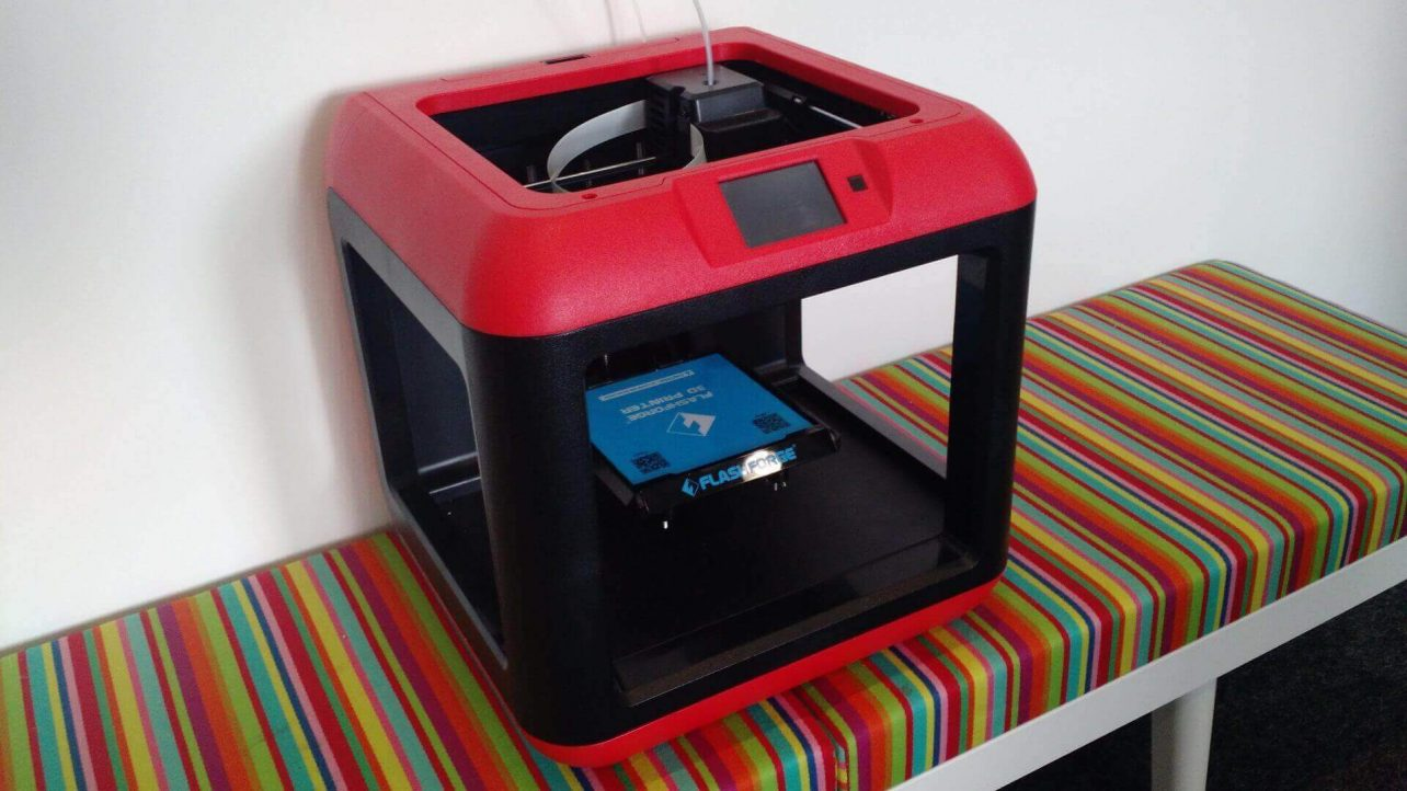 Featured image of Flashforge Finder 3D Printer Review: (Almost) For Beginners