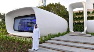 Featured image of 3D Printed Office Building Unveiled in Dubai