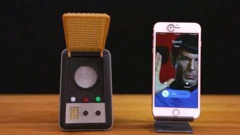 Featured image of 3D Printed Star Trek Communicator: Phone me up, Scotty!